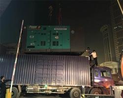 1000kw静音发动机助力建设银行郑州分部